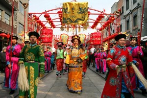Chinese Celebrate The Lantern Festival